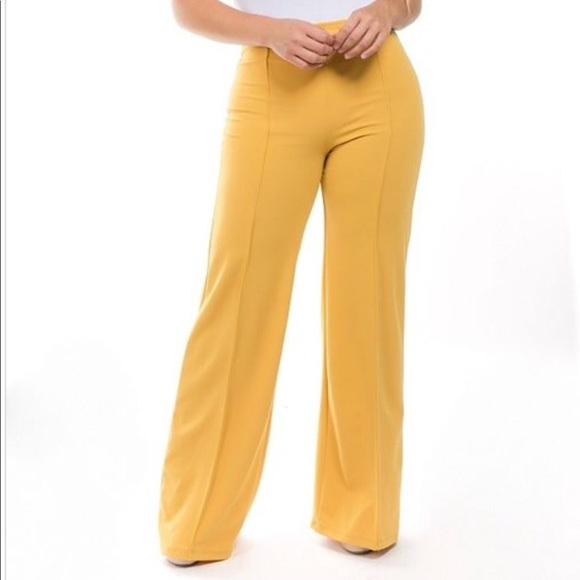 New Plus size Highwaisted Bootcut Pant Boutique